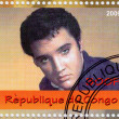 Stamp with Elvis Presley — Stock Photo #2657205
