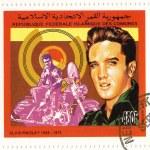 Stamp with Elvis Presley — Stock Photo #2657419
