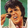 Stamp with Elvis Presley — Stock Photo #2661842