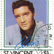Stamp with Elvis Presley — Stock Photo #2674005