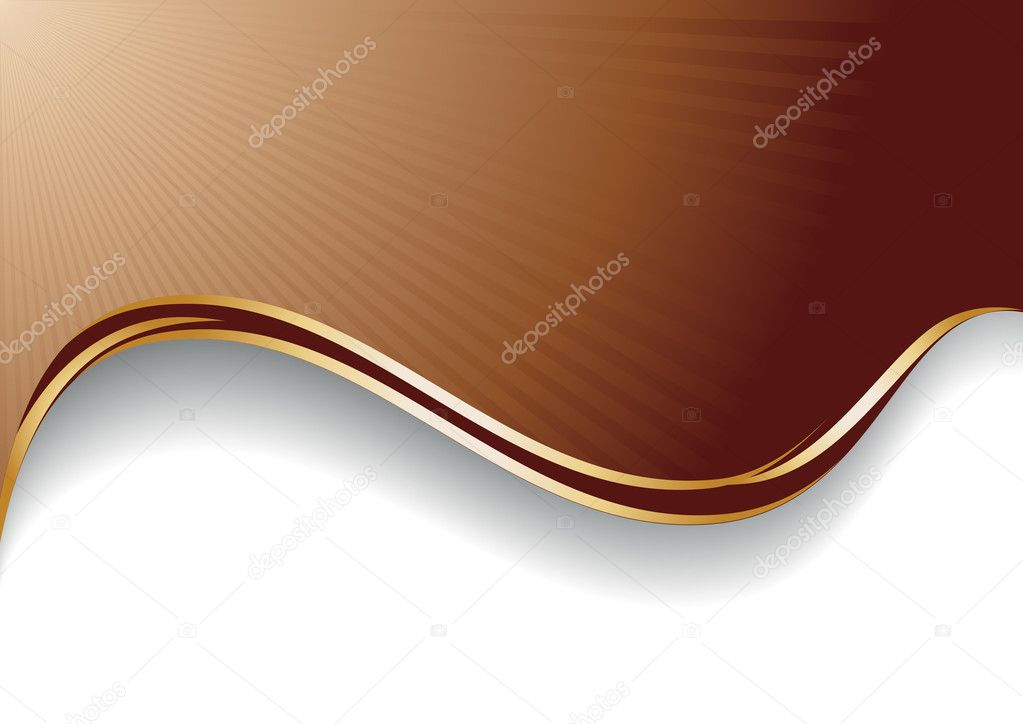 Abstract chocolate background; clip-art — Stock Vector #1015114