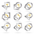 Royalty-Free Stock Obraz wektorowy: Vector abstract icon