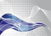 Vector abstract tech background — Stock Vector