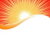 Vettore sfondo arancione brillante — Vettoriale Stock
