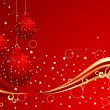 Vector xmas background — Stock Vector #1030533