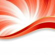 Vector abstract red background — Stock Vector #1031442