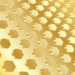 Vector gold background — Stok Vektör #1033598