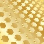 vektör altın arka plan — Stok Vektör