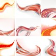 Vector collection abstract background — Stock Vector