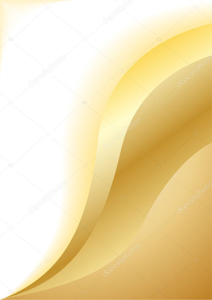 Vector abstract gold background; clip-art   #1048944