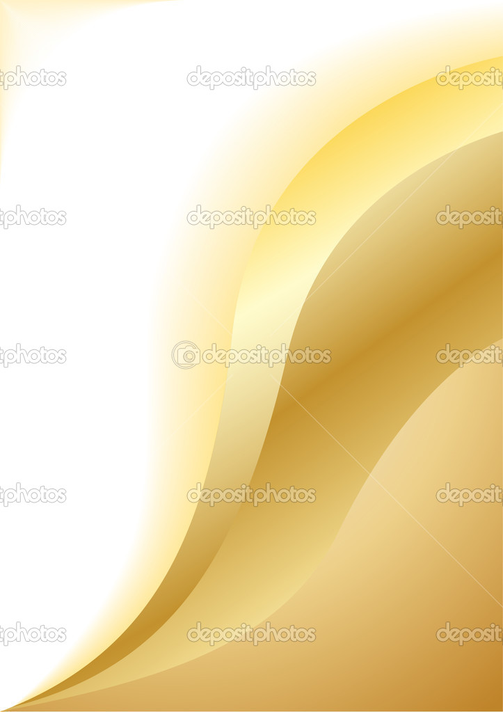 Vector abstract gold background; clip-art — Stock Vector #1048944