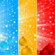 Vector xmas banners — Stock Vector