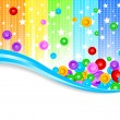 vector abstract colorful background — Stock Vector #2566512