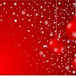 Vector xmas background — Stock Vector