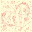 Royalty-Free Stock Vector Image: Vector pattern with heart