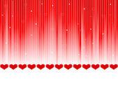 Cartolina di san valentino vettoriale — Vettoriale Stock