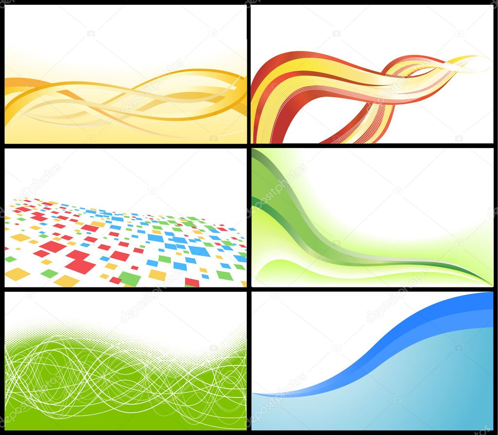 Vector business card stock vector c denchik 2567040 for Clipart for business cards