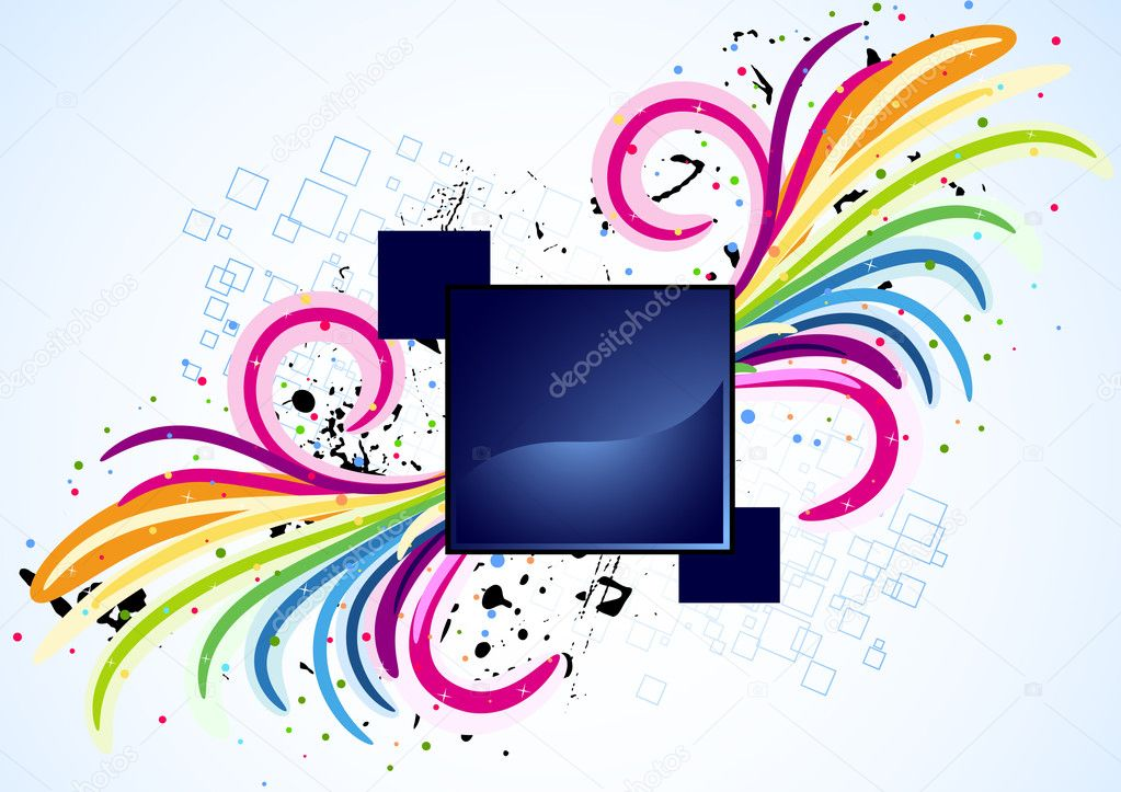 Vector spiral design; clip-art — Stock Vector #2567538