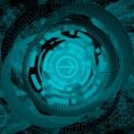 Vector abstract tech background — Stock Vector #2571109