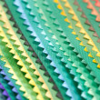 Samples of a fabric. — Stock Photo