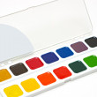 Royalty-Free Stock Photo: Water colour paints