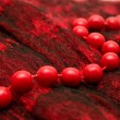 Royalty-Free Stock Photo: Red beads