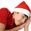 Christmas teen. — Stock Photo