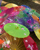 Chinese parasols. — Stock Photo