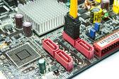 SATA socket — Stock Photo