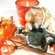 Doll and New Year — Stock Photo #1042138