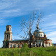 The destroyed church in Moscow suburbs — Stock Photo