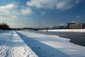 Quay of the Moskva River — Stock Photo