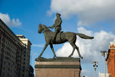 Monument to George Zhukov. — Stock Photo