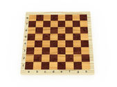 3d empty chessboard — Stock Photo