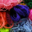 Stock Photo: Colored yarn