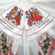 Ukrainian embroidery — Stock Photo