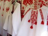 Ukrainian embroidery — Stock Photo