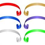 cores da bandeira set 3 — Vetorial Stock
