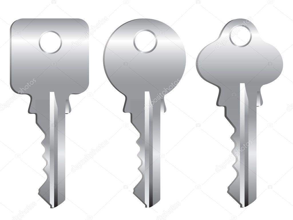 Key lock security. key lock security stock photo.
