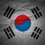Grunge background South Korea — Stock Photo