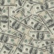 Stock Photo: Banknotes background 2