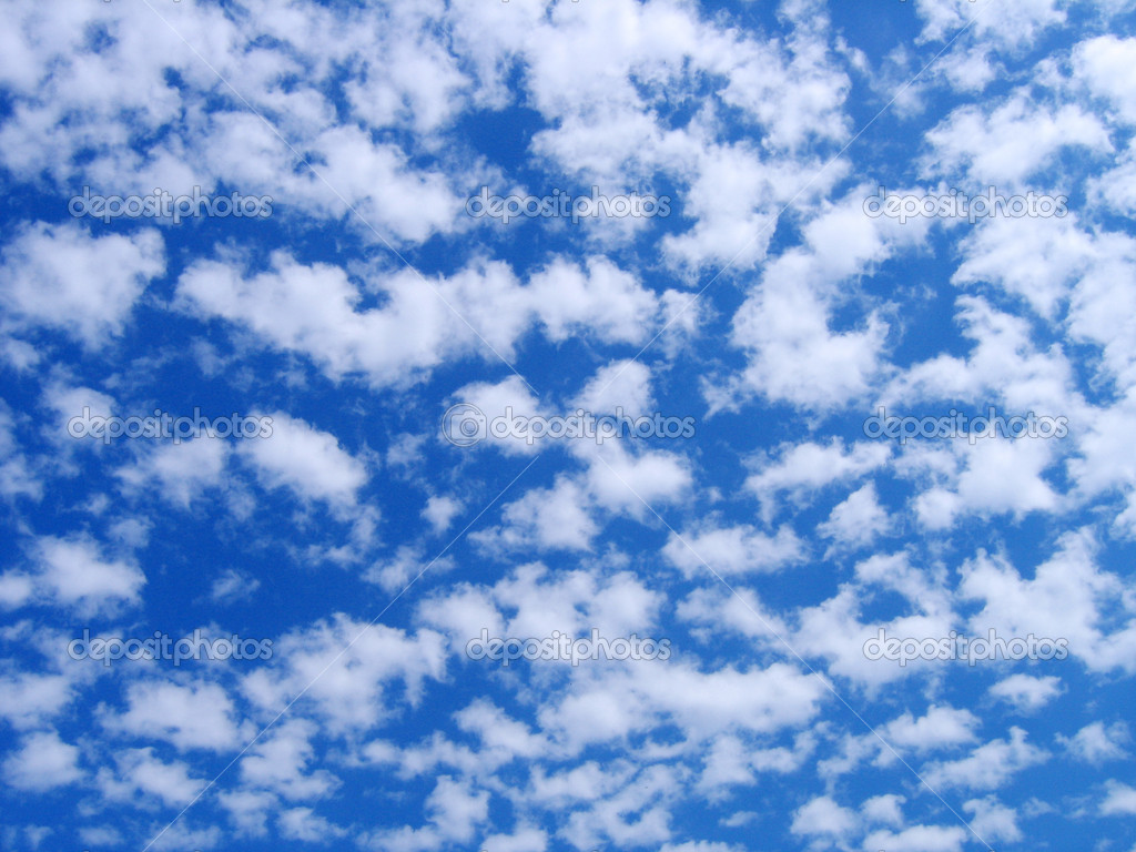 Fluffy clouds in the sky background. — Stock Photo #2071483
