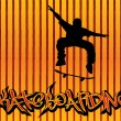 Royalty-Free Stock Vectorafbeeldingen: Skataboarding background