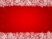 Christmas background red — Stock Vector
