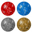 Royalty-Free Stock Vector Image: Abstract Christmas balls