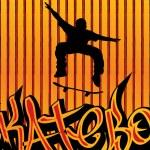 Skataboarding background 2 — Stock Vector #2678908