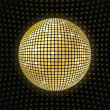 Shiny disco ball — Stock Photo