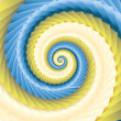 Color abstract spirals — Stock Photo