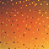 Mosaic background orange — Stock Photo