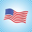 Americflag — Stock Photo #1048865